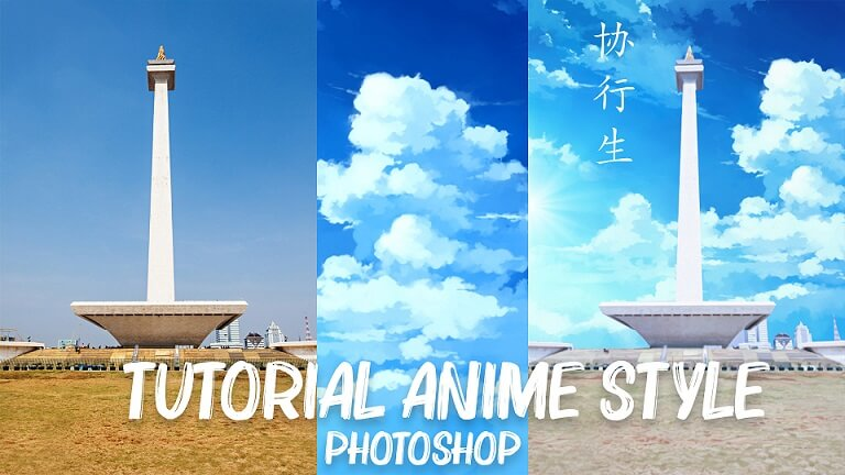Cara Edit Foto Anime Style di Photoshop
