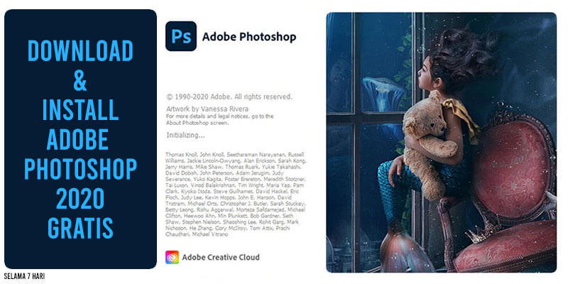 cara download dan install adobe photoshop 2020